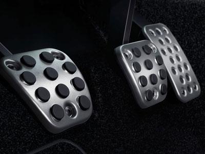 Textured Aluminum Pedals