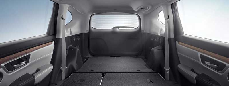 EASY FOLD-DOWN 60/40 SPLIT REAR SEAT
