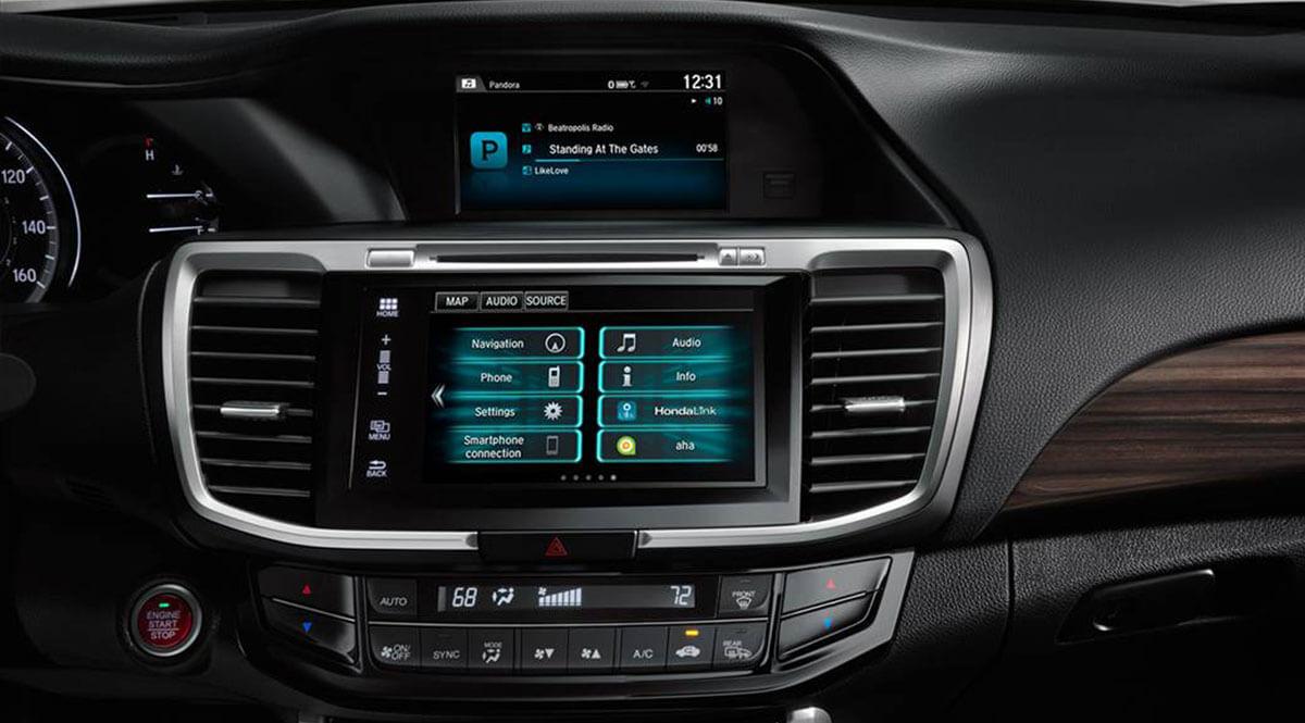 2017 Honda Accord Maine Dealers Head Unit Radio